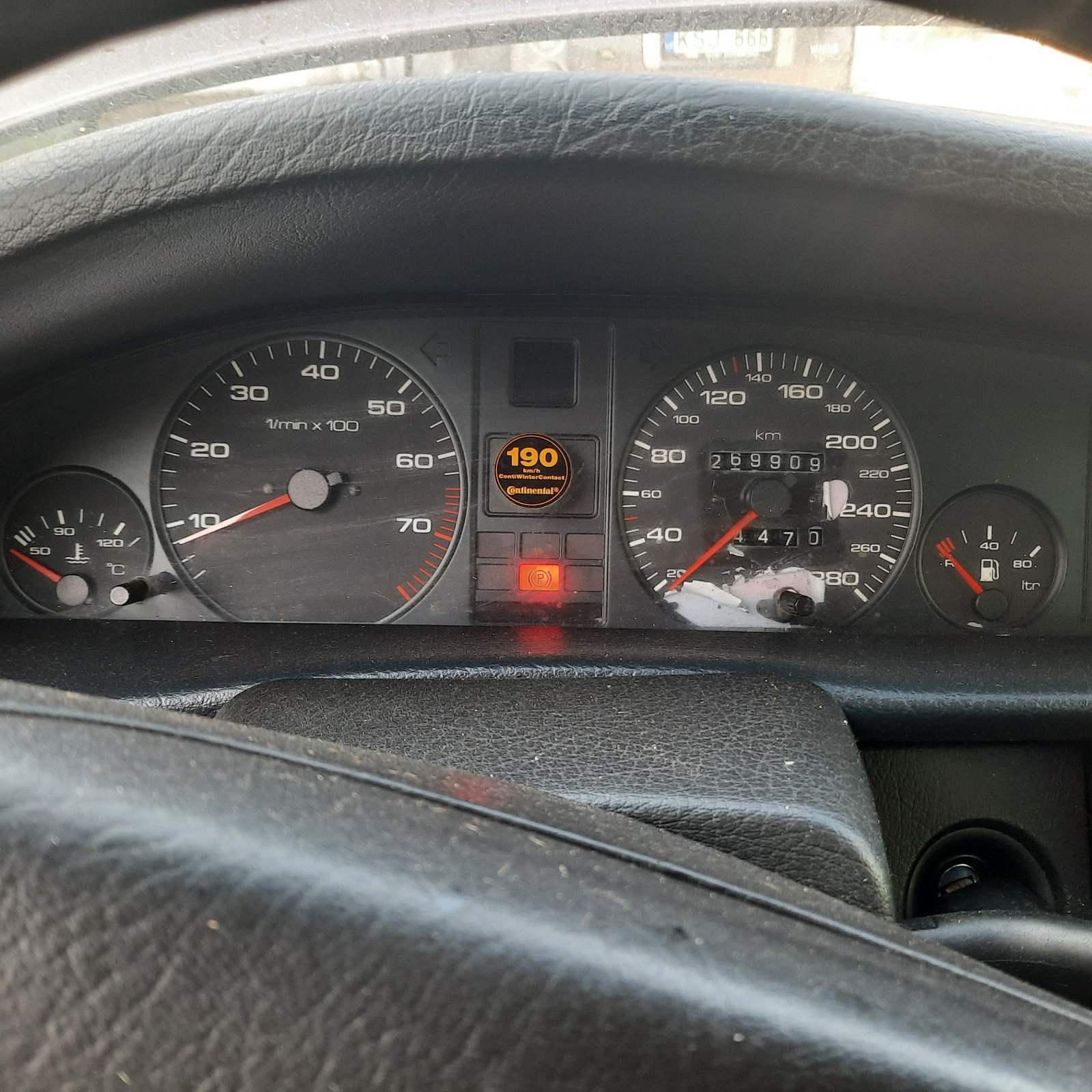 Подержанные Автозапчасти Audi 100 1991 2.0 машиностроение седан 4/5 d. красный 2021-7-24