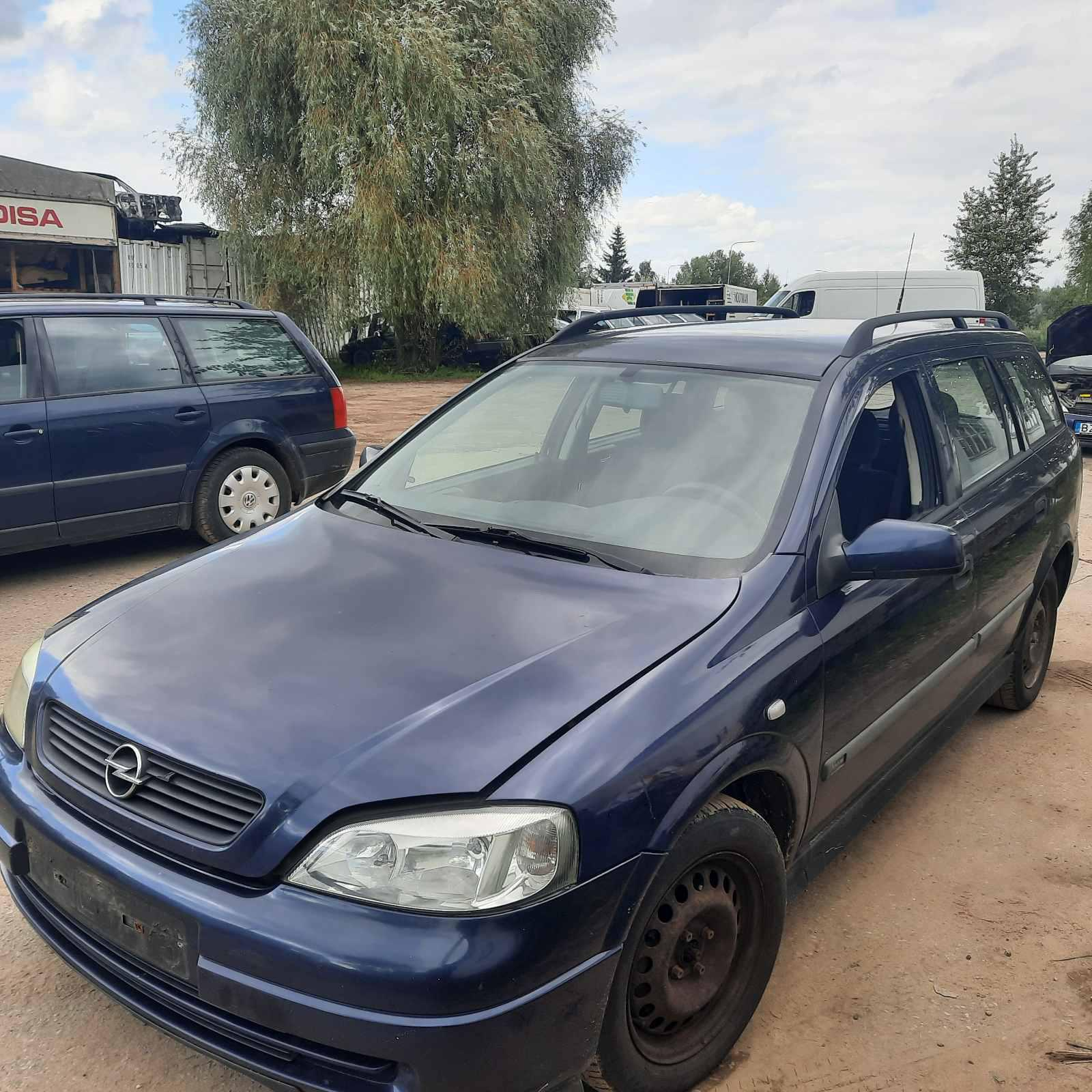 Foto-2 Opel Astra Astra, G 1998.09 - 2004.12 2000 Dyzelis 1.7