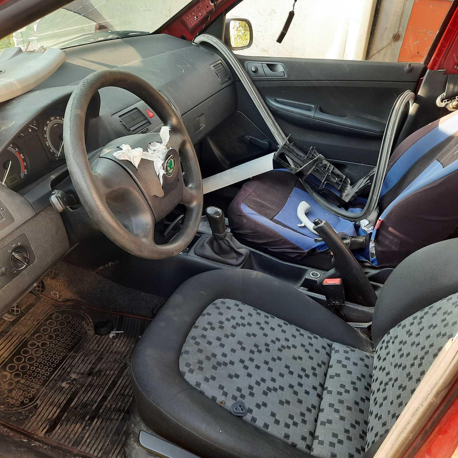 Naudotos automobilio dalys Skoda FABIA 2007 1.4 Mechaninė Universalas 4/5 d. Raudona 2021-8-24