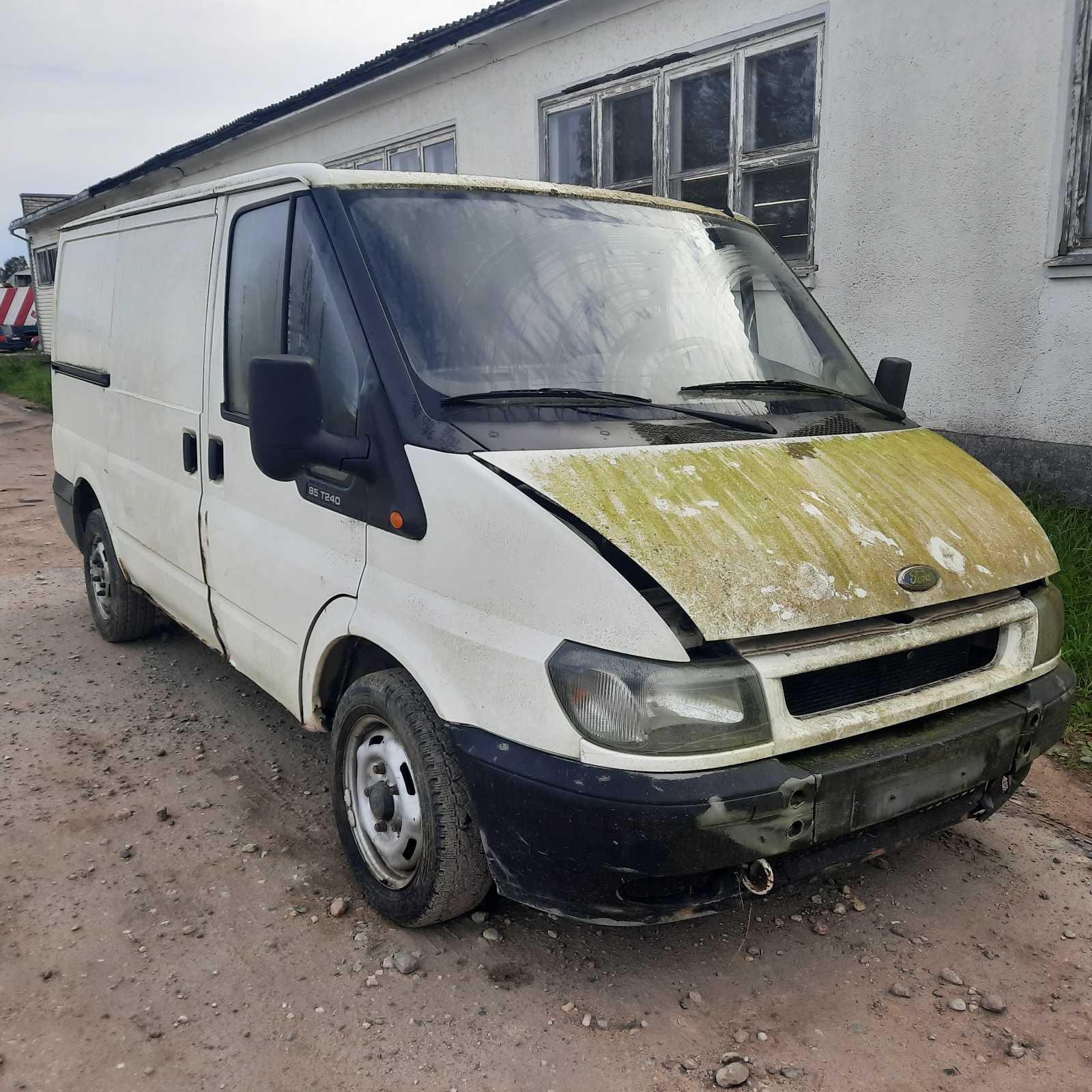 Naudotos automobilio dalys Ford TRANSIT 2005 2.0 Mechaninė Krovininis mikroautobusas 2/3 d. Balta 2021-9-06