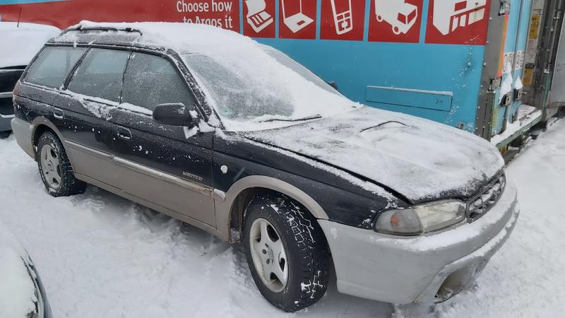Used Car Parts Foto 1 Subaru OUTBACK 1999 2.5 Automatic Universal 4/5 d. Black 2021-1-12 A6029