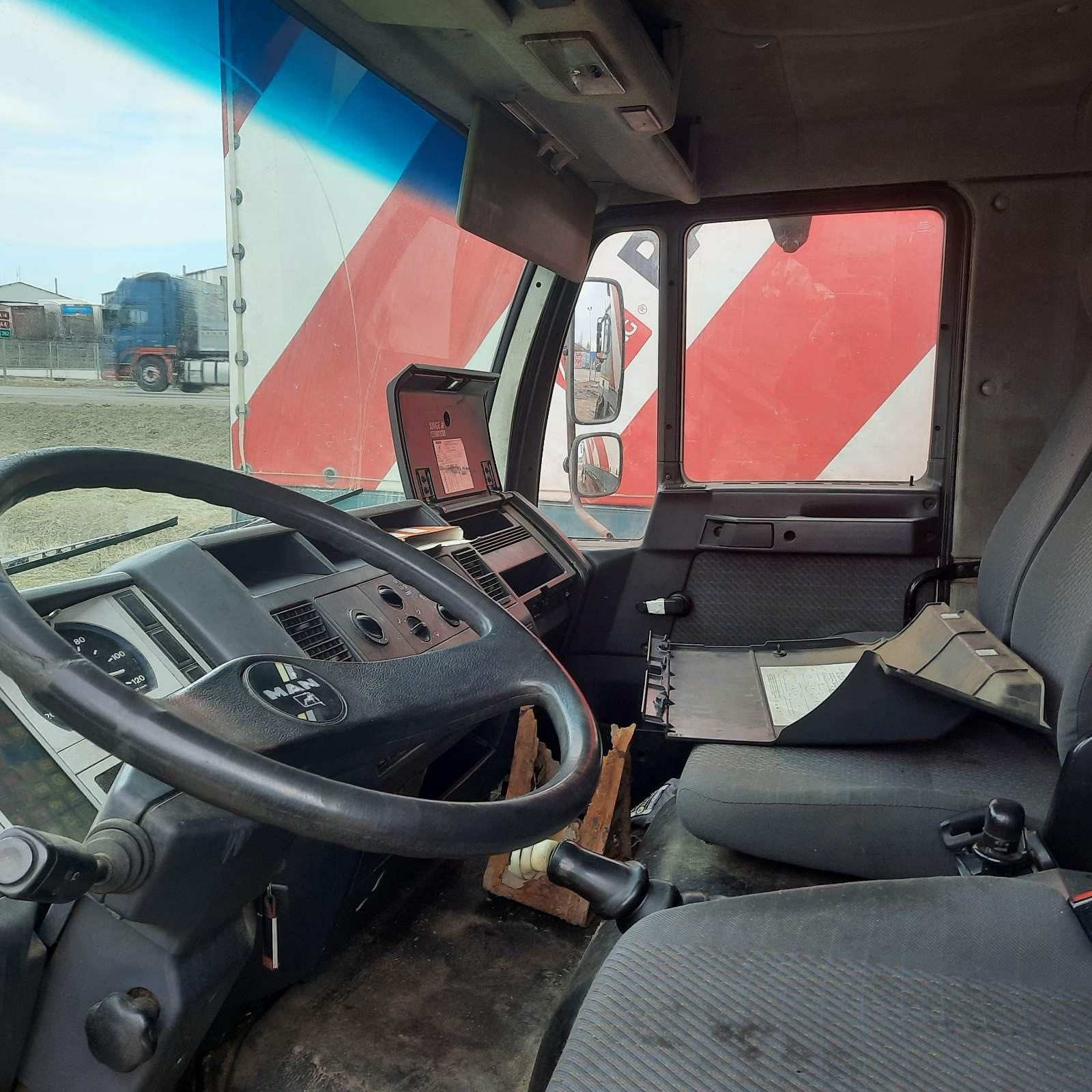 Naudotos automobilio dalys Truck - MAN 8.163 1998 4.6 Mechaninė Sunkvezimis 2/3 d. Balta 2021-3-29
