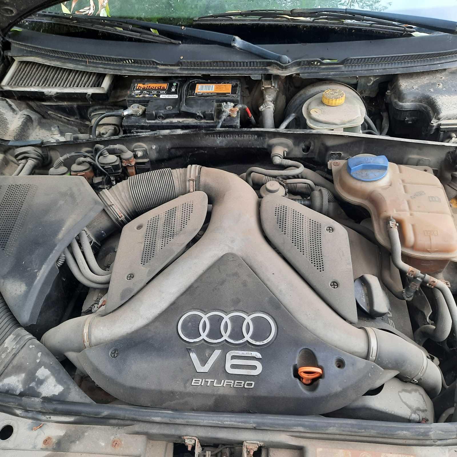 Naudotos automobiliu dallys Foto 3 Audi A6 2001 2.7 Mechaninė Universalas 4/5 d. Juoda 2021-7-28 A6483