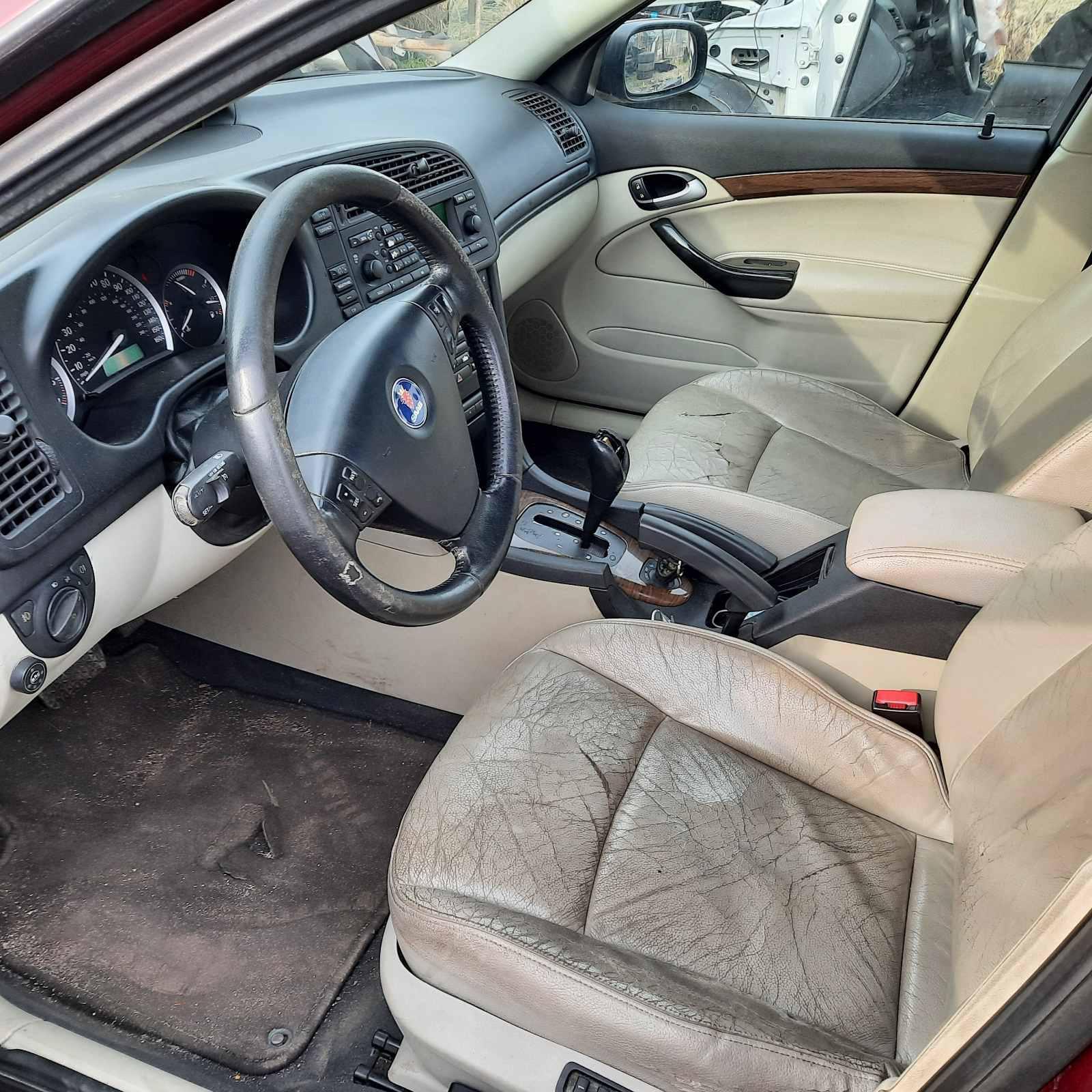 Naudotos automobiliu dallys Foto 10 SAAB 9-3 2004 2.0 Automatinė Sedanas 4/5 d. Raudona 2021-4-29 A6184