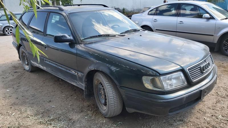 Naudotos automobilio dalys Audi 100 1993 2.5 Mechaninė Universalas 4/5 d. Zalia 2021-7-22