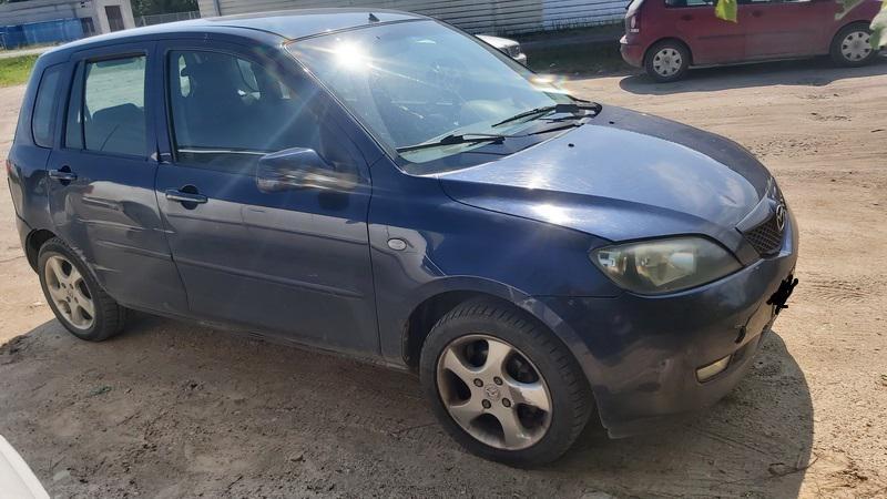 Naudotos automobilio dalys Mazda 2 2005 1.4 Mechaninė Hečbekas 4/5 d. Melyna 2021-6-30