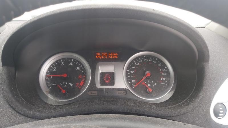 Naudotos automobilio dalys Renault CLIO 2010 1.2 Mechaninė Hečbekas 4/5 d. Sidabrine 2021-2-04