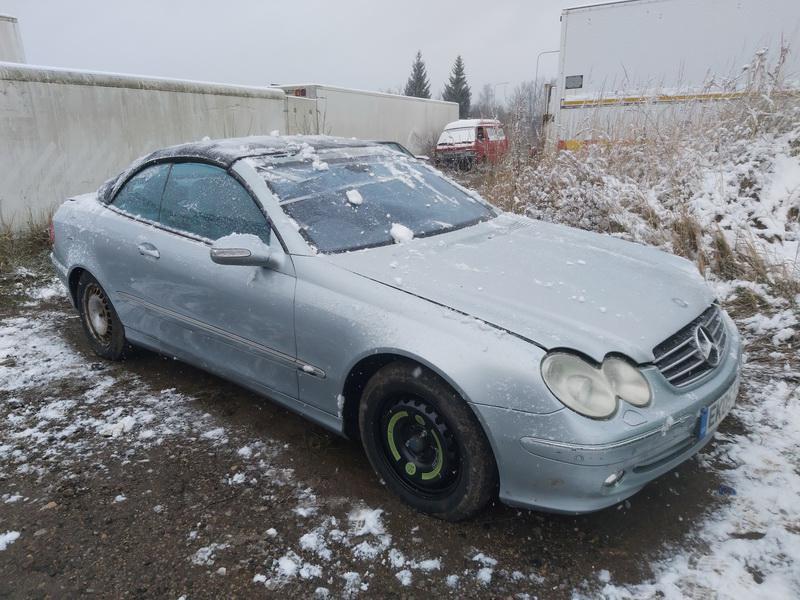 Naudotos automobilio dalys Mercedes-Benz CLK-CLASS 2005 3.2 Automatinė Kabrioletas 2/3 d. Zydra 2020-11-30