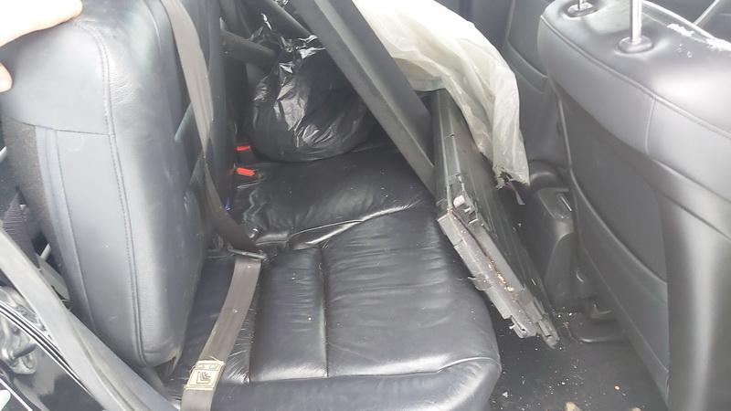 Naudotos automobilio dalys Honda CR-V 2008 2.0 Mechaninė Visureigis 4/5 d. Juoda 2021-2-03