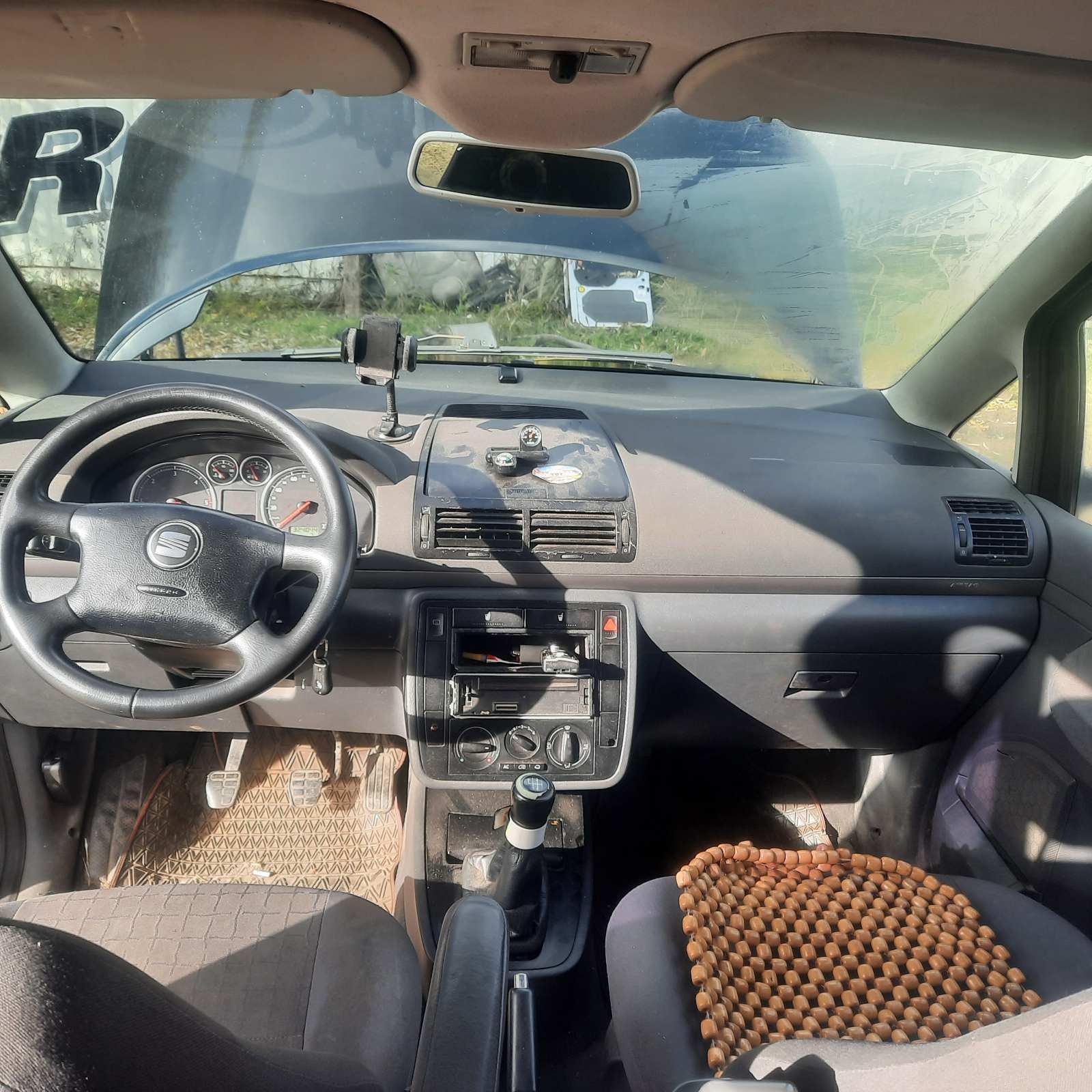 Naudotos automobilio dalys Seat ALHAMBRA 2001 1.9 Mechaninė Vienatūris 4/5 d. Juoda 2021-10-18