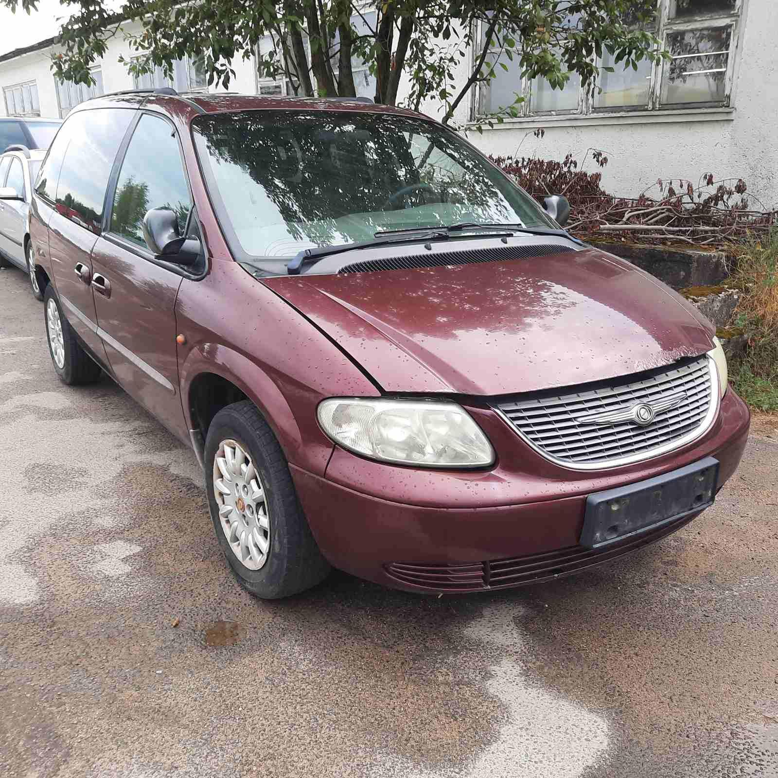 Naudotos automobilio dalys Chrysler VOYAGER 2001 2.5 Mechaninė Vienatūris 4/5 d. Raudona 2021-7-09