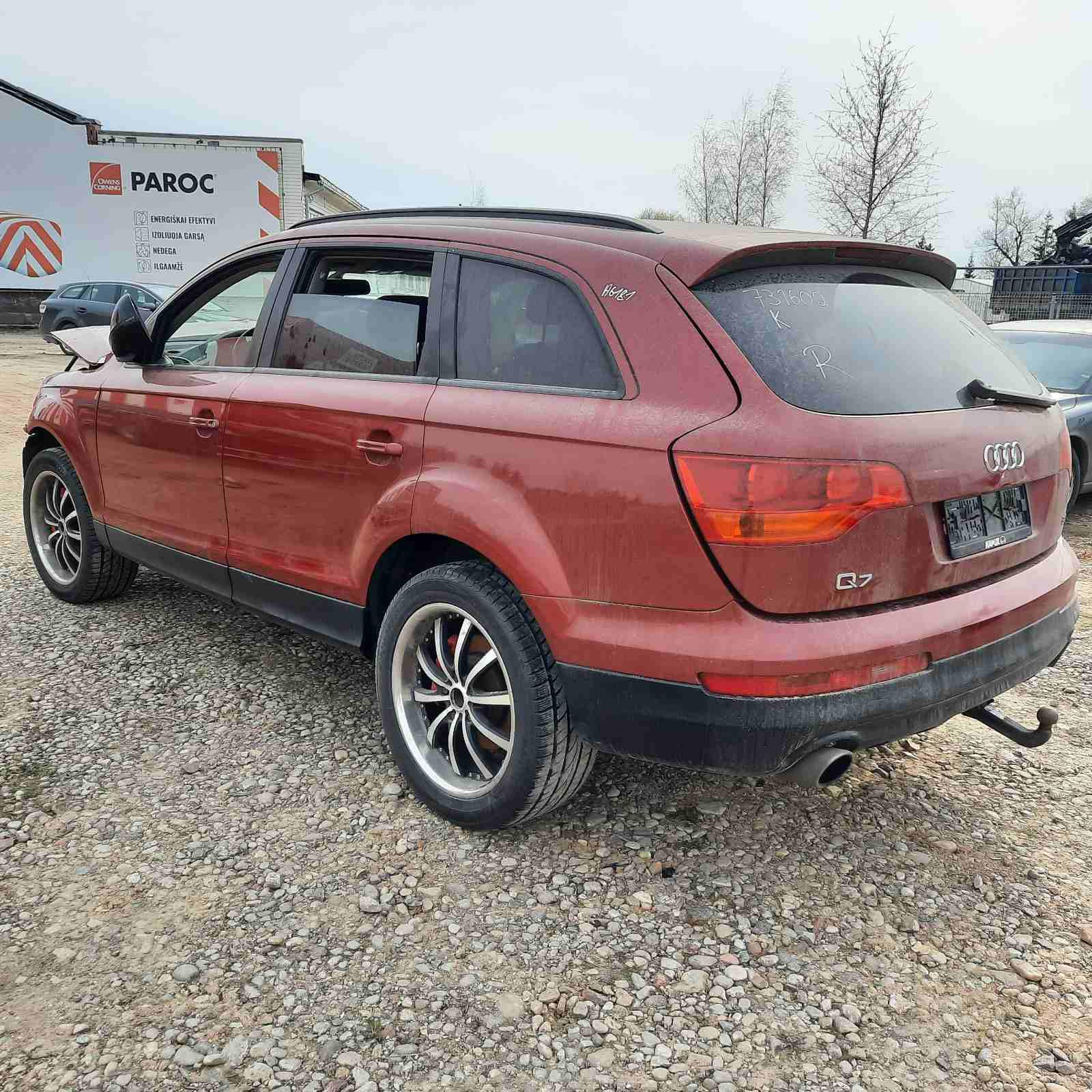 Used Car Parts Foto 8 Audi Q7 2006 3.0 Automatic Jeep 4/5 d. Red 2021-4-29 A6181