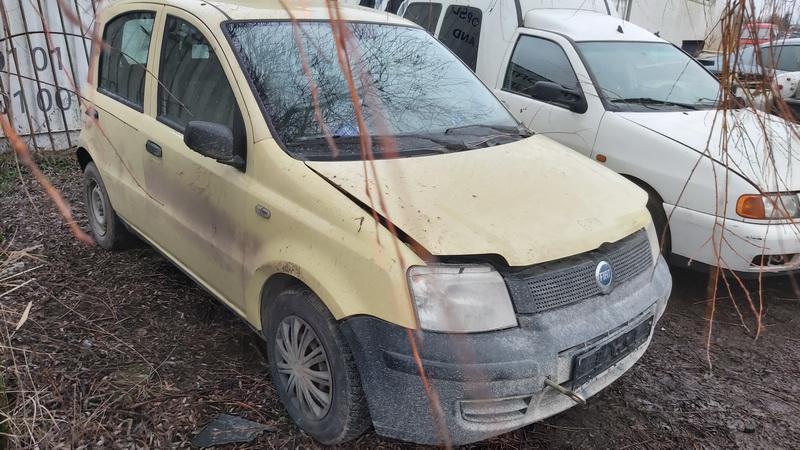 Naudotos automobilio dalys Fiat PANDA 2005 1.1 Mechaninė Hečbekas 4/5 d. Geltona 2020-12-29