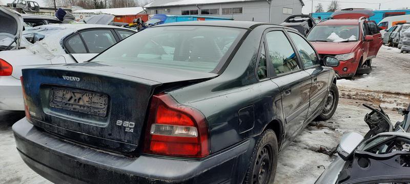Подержанные Автозапчасти Volvo S80 1999 2.4 машиностроение седан 4/5 d. зеленый 2021-1-25
