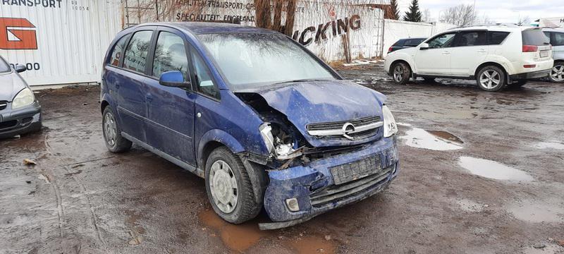 Подержанные Автозапчасти Opel MERIVA 2005 1.7 машиностроение минивэн 4/5 d. синий 2021-2-27