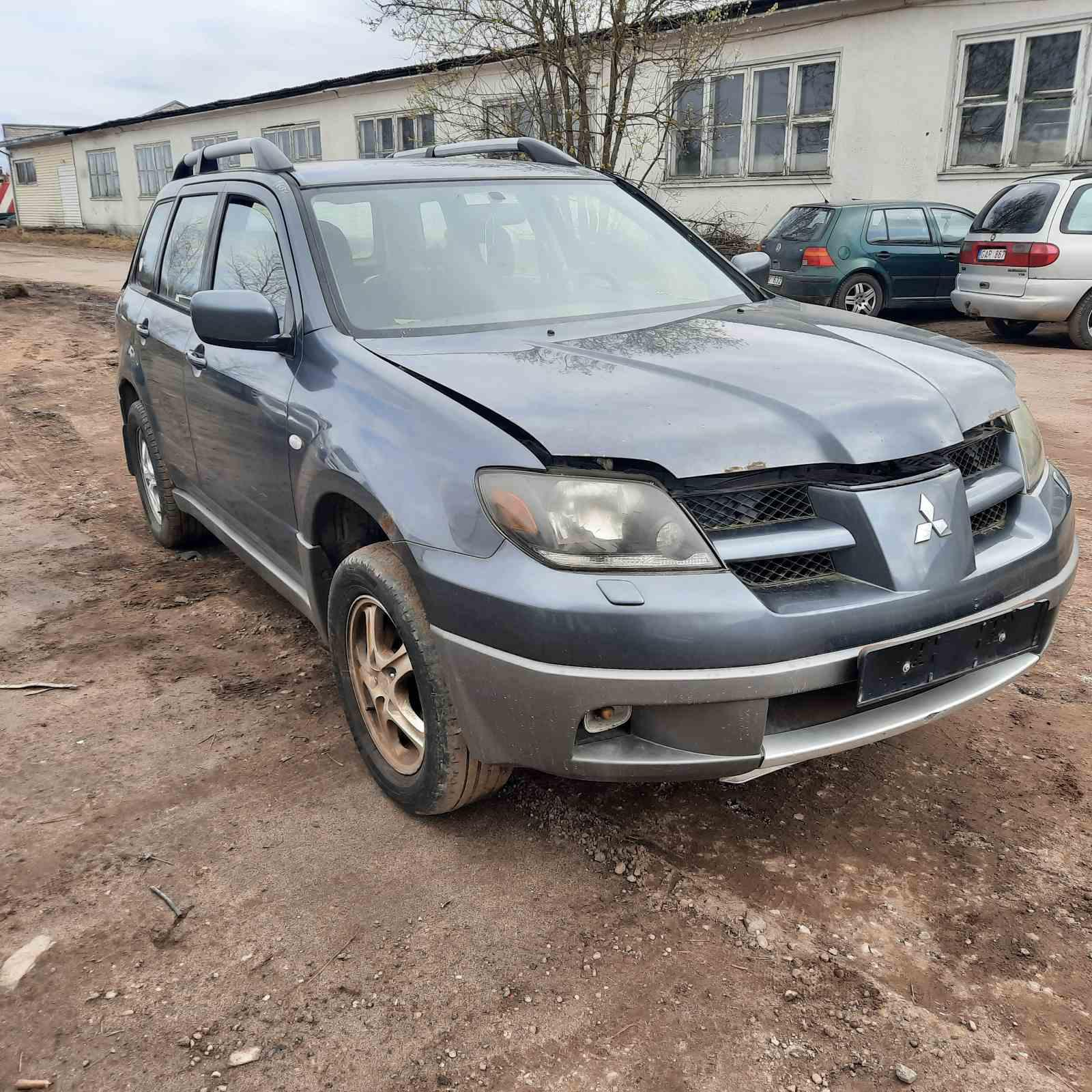 Used Car Parts Mitsubishi OUTLANDER 2003 2.0 Mechanical Jeep 4/5 d. Blue 2021-4-16
