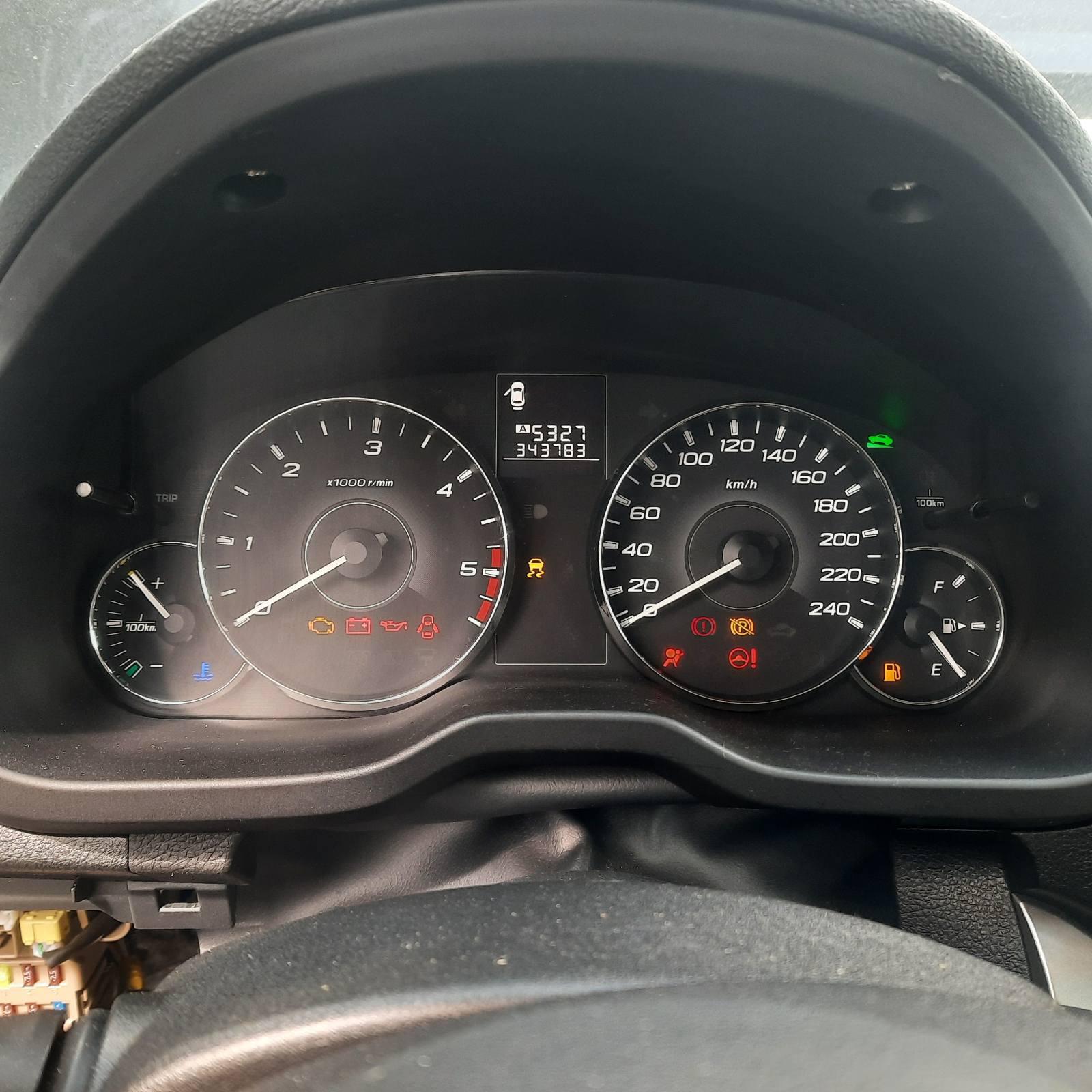 Naudotos automobilio dalys Subaru OUTBACK 2010 2.0 Mechaninė Universalas 4/5 d. Juoda 2021-8-24
