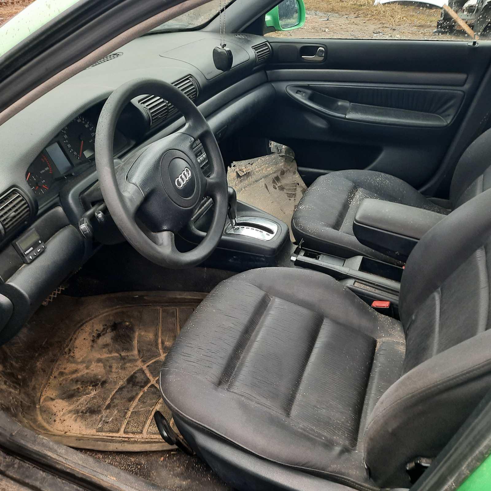 Naudotos automobiliu dallys Foto 5 Audi A4 1997 1.9 Automatinė Universalas 4/5 d. Zalia 2021-4-01 A6128