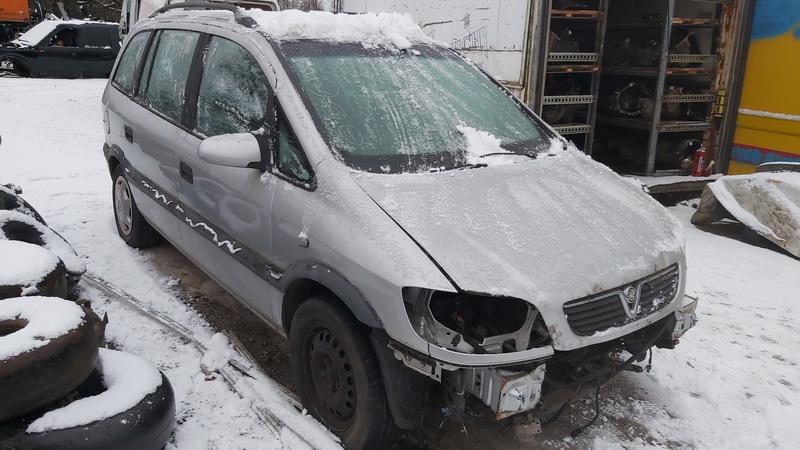 Naudotos automobilio dalys Opel ZAFIRA 2002 2.0 Mechaninė Vienatūris 4/5 d. Pilka 2020-12-15