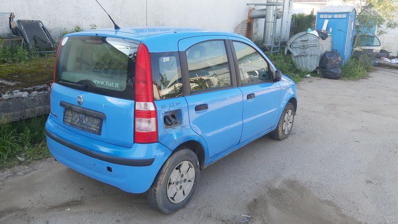 Naudotos automobilio dalys Fiat PANDA 2004 1.1 Mechaninė Hečbekas 4/5 d. Melyna 2021-6-28