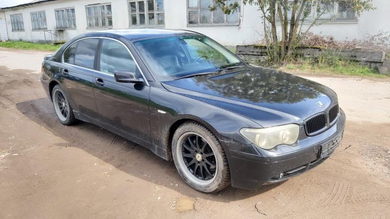 Naudotos automobilio dalys BMW 7-SERIES 2002 3.0 Automatinė Sedanas 4/5 d. Juoda 2021-8-31