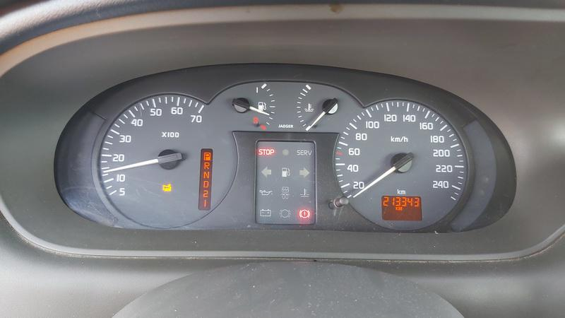 Used Car Parts Foto 6 Renault SCENIC 2000 1.6 Automatic Minivan 4/5 d. Grey 2021-5-01 A6188