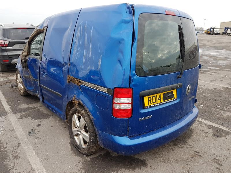 Подержанные Автозапчасти Foto 4 Volkswagen CADDY 2014 2.0 машиностроение коммерческая 2/3 d. синий 2021-1-12 A6024