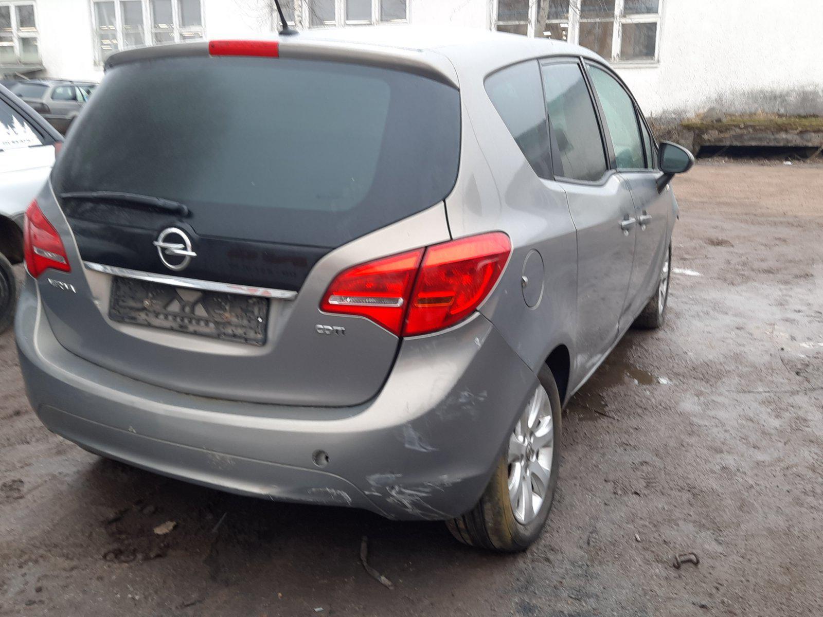Naudotos automobiliu dallys Foto 7 Opel MERIVA 2011 1.7 Mechaninė Vienatūris 4/5 d. Ruda 2021-3-04 A6087