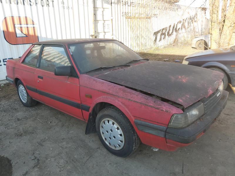 Naudotos automobilio dalys Mazda 626 1987 2.0 Mechaninė Kupė 2/3 d. Raudona 2020-12-03