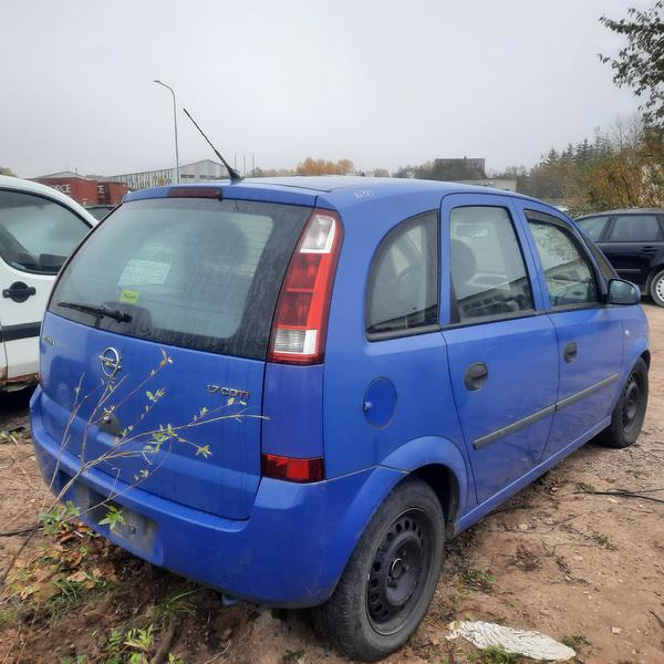 Naudotos automobiliu dallys Foto 3 Opel MERIVA 2004 1.7 Mechaninė Vienatūris 4/5 d. Melyna 2021-10-13 A6739