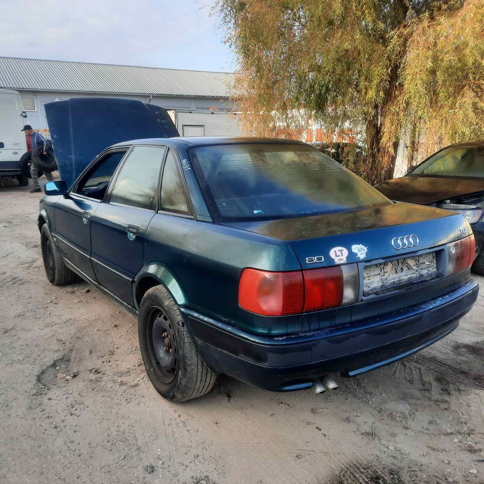 Used Car Parts Foto 4 Audi 80 1993 1.9 Mechanical Sedan 4/5 d. Green 2021-10-12 A6731