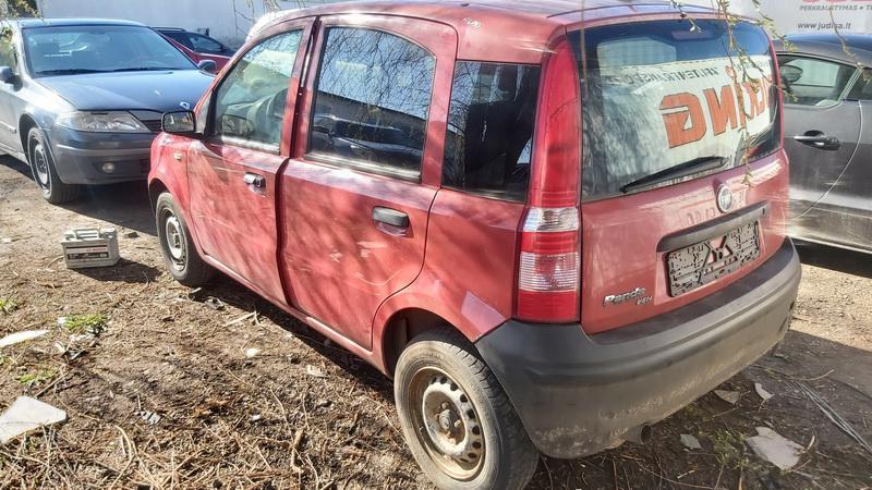 Подержанные Автозапчасти Foto 7 Fiat PANDA 2006 1.1 машиностроение хэтчбэк 4/5 d. красный 2021-5-01 A6190