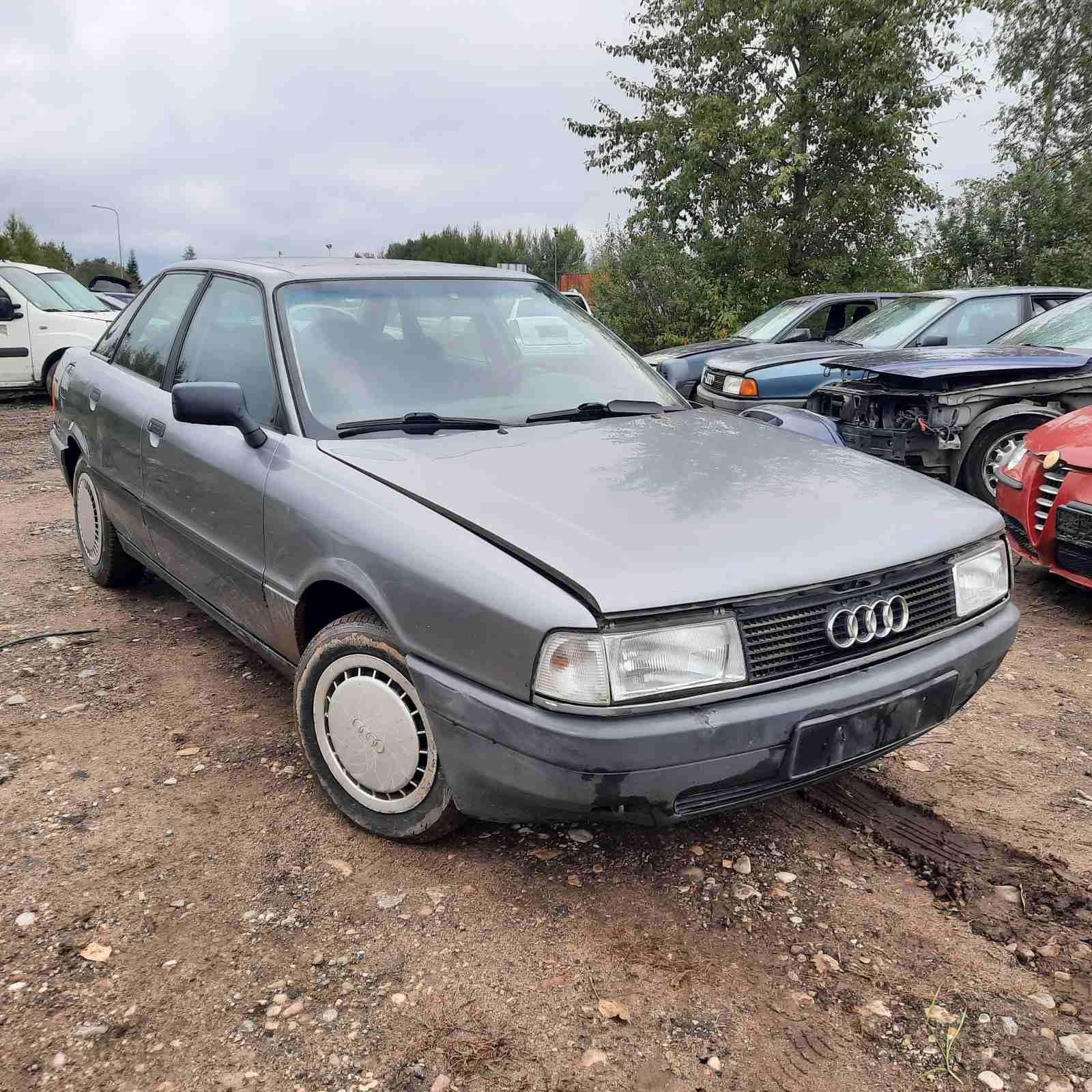 Naudotos automobilio dalys Audi 80 1991 1.8 Mechaninė Sedanas 4/5 d. Pilka 2021-9-21