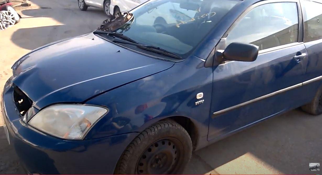 Toyota COROLLA 2002 1.4 Mechaninė