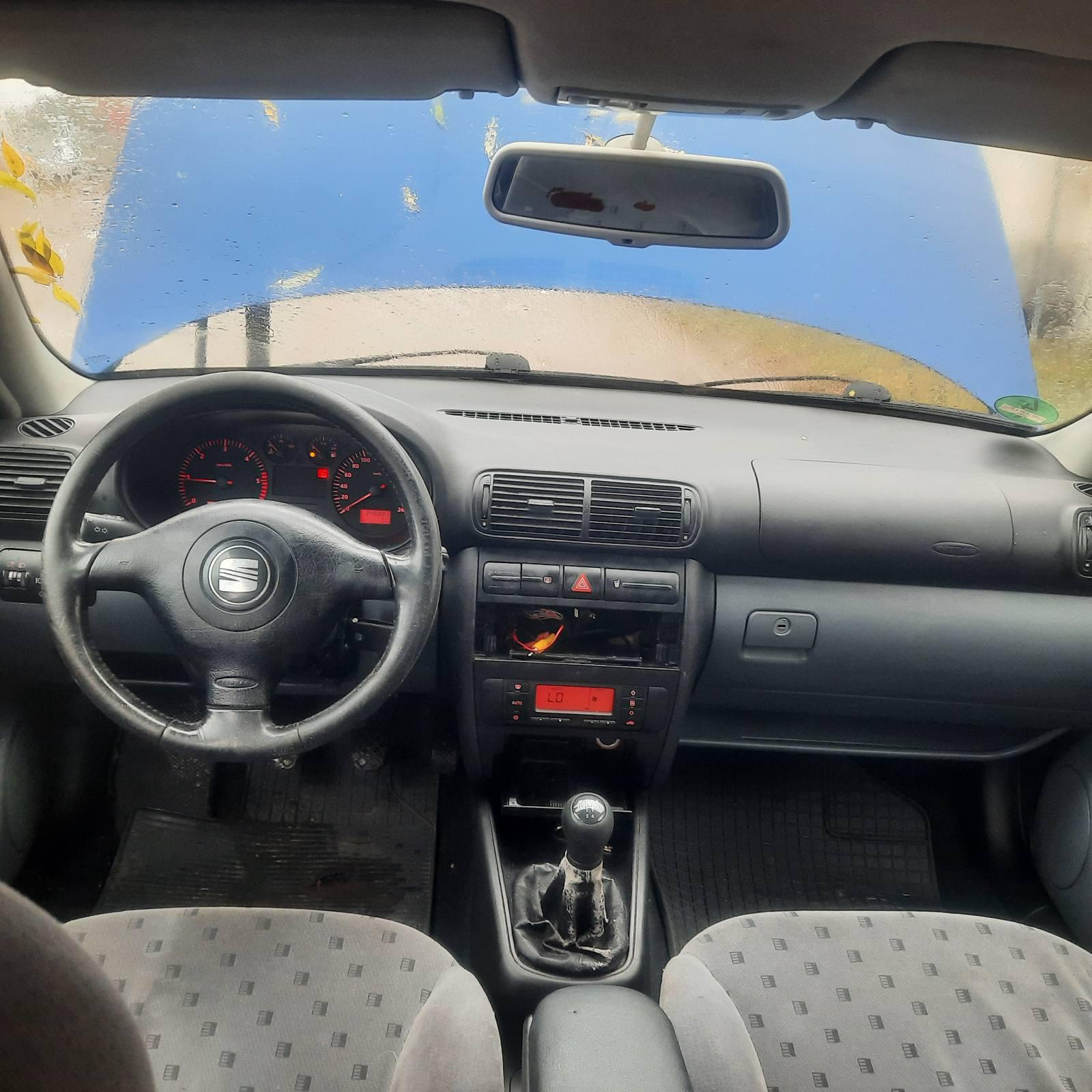 Naudotos automobilio dalys Seat TOLEDO 2002 1.9 Mechaninė Sedanas 4/5 d. Melyna 2021-10-14