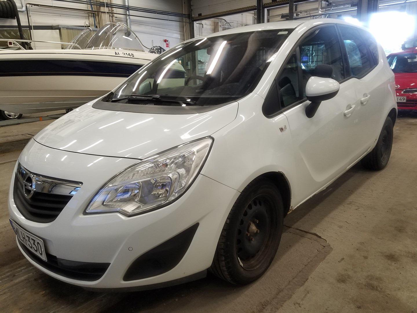 Used Car Parts Foto 2 Opel MERIVA 2013 1.7 Automatic Hatchback 4/5 d. white 2021-5-01 A6192
