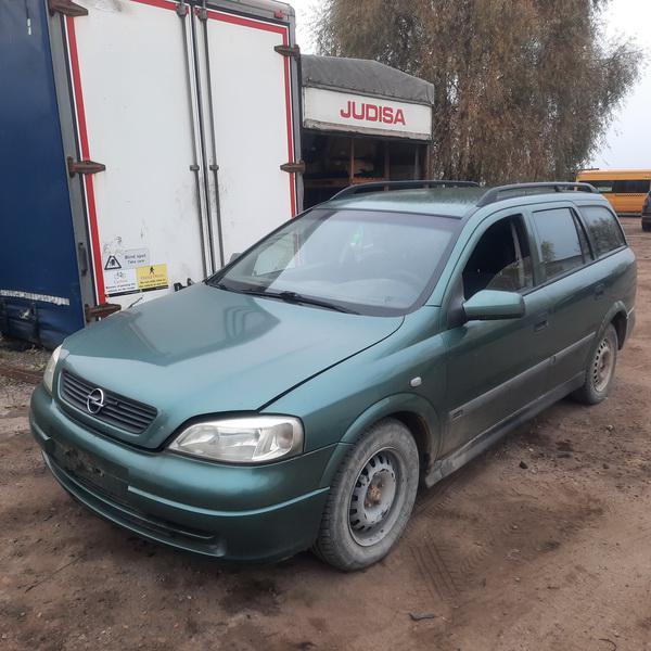 Naudotos automobiliu dallys Foto 2 Opel ASTRA 2000 1.7 Mechaninė Universalas 4/5 d. Zalia 2021-10-14 A6741