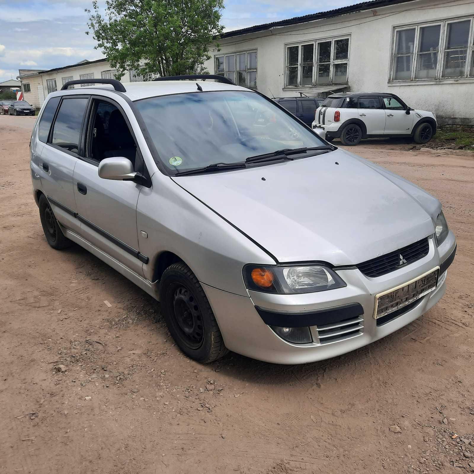 Naudotos automobilio dalys Mitsubishi SPACE STAR 2003 1.9 Mechaninė Vienatūris 4/5 d. Pilka 2021-6-03