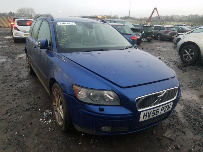 Подержанные Автозапчасти Volvo V50 2006 2.0 машиностроение универсал 4/5 d. синий 2021-1-18