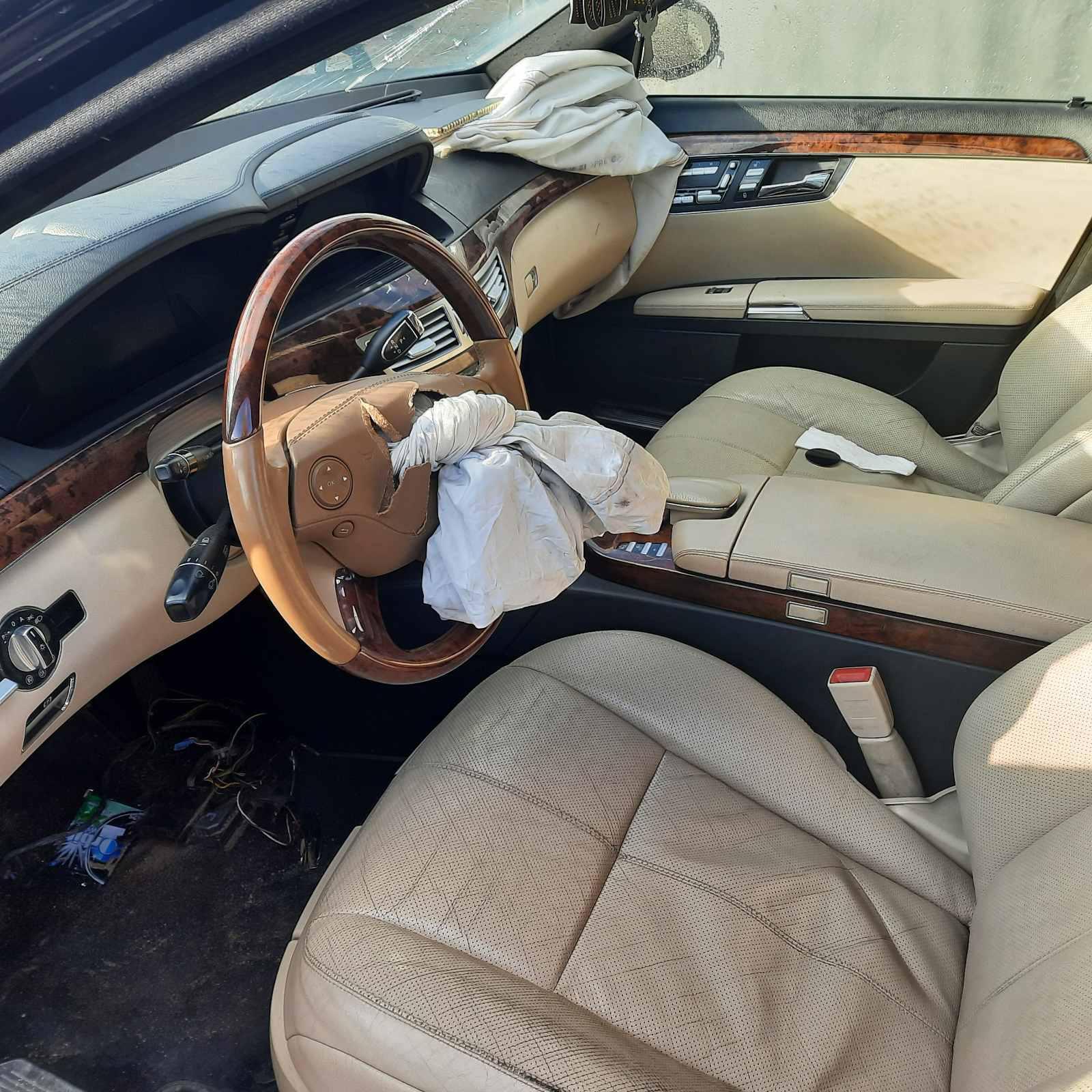 Naudotos automobilio dalys Mercedes-Benz S-CLASS 2007 3.0 Automatinė Sedanas 4/5 d. Juoda 2021-4-28