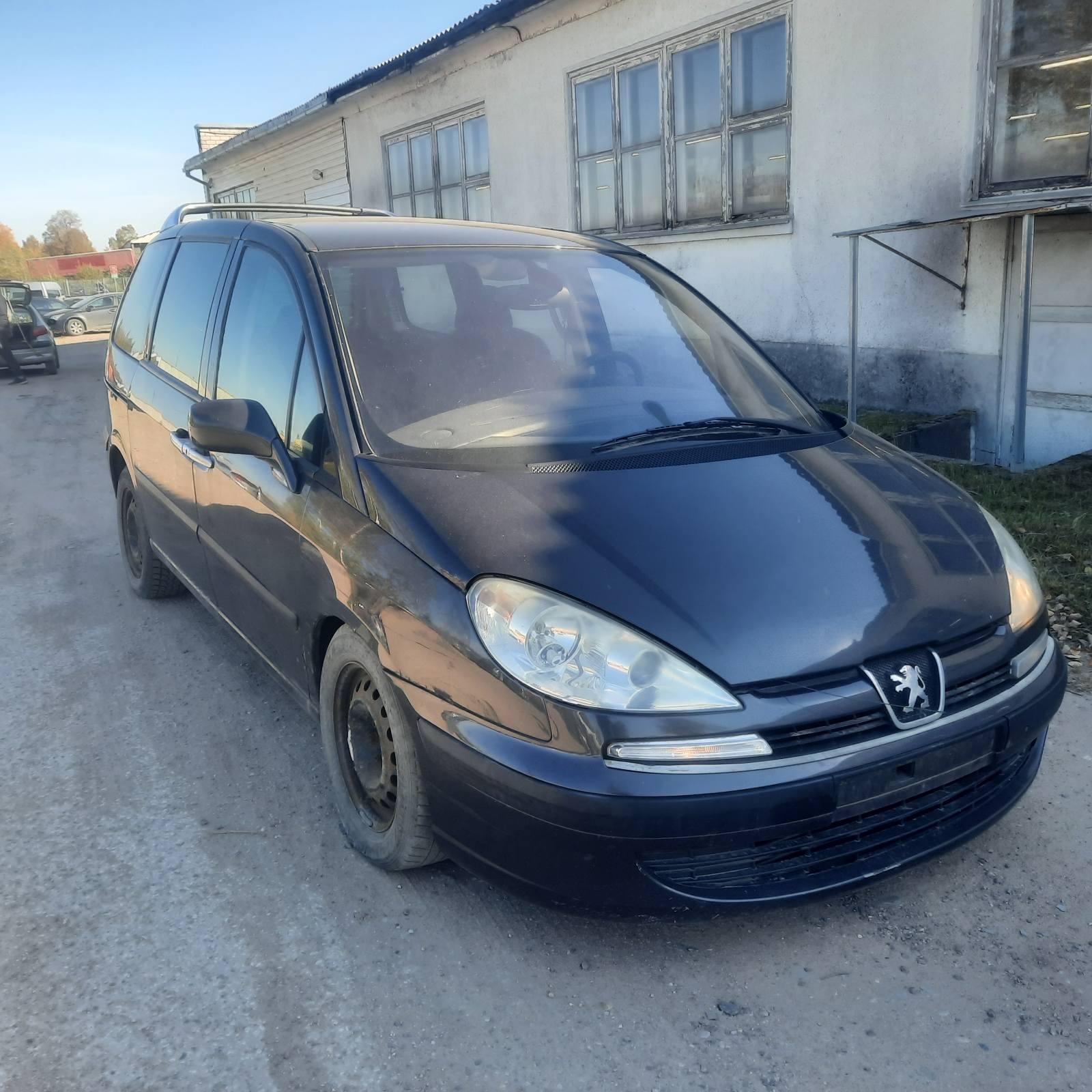 Naudotos automobilio dalys Peugeot 807 2004 2.0 Mechaninė Vienatūris 4/5 d. Juoda 2021-10-06