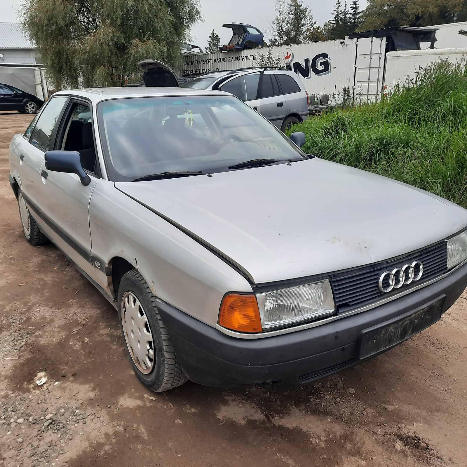 Naudotos automobiliu dallys Foto 1 Audi 80 1989 1.8 Mechaninė Sedanas 4/5 d. Pilka 2021-10-01 A6700