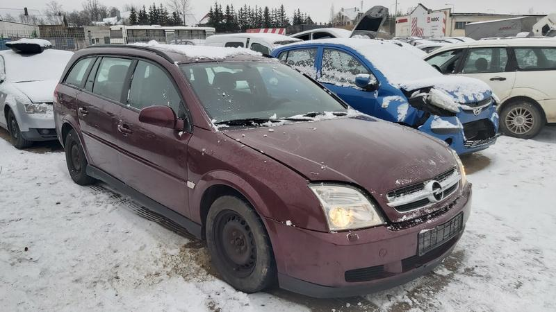 Naudotos automobilio dalys Opel VECTRA 2004 2.2 Mechaninė Universalas 4/5 d. Raudona 2020-12-15