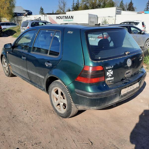 Foto-3 Volkswagen Golf Golf, IV 1997.08 - 2003.10 1999 Dyzelis 1.9