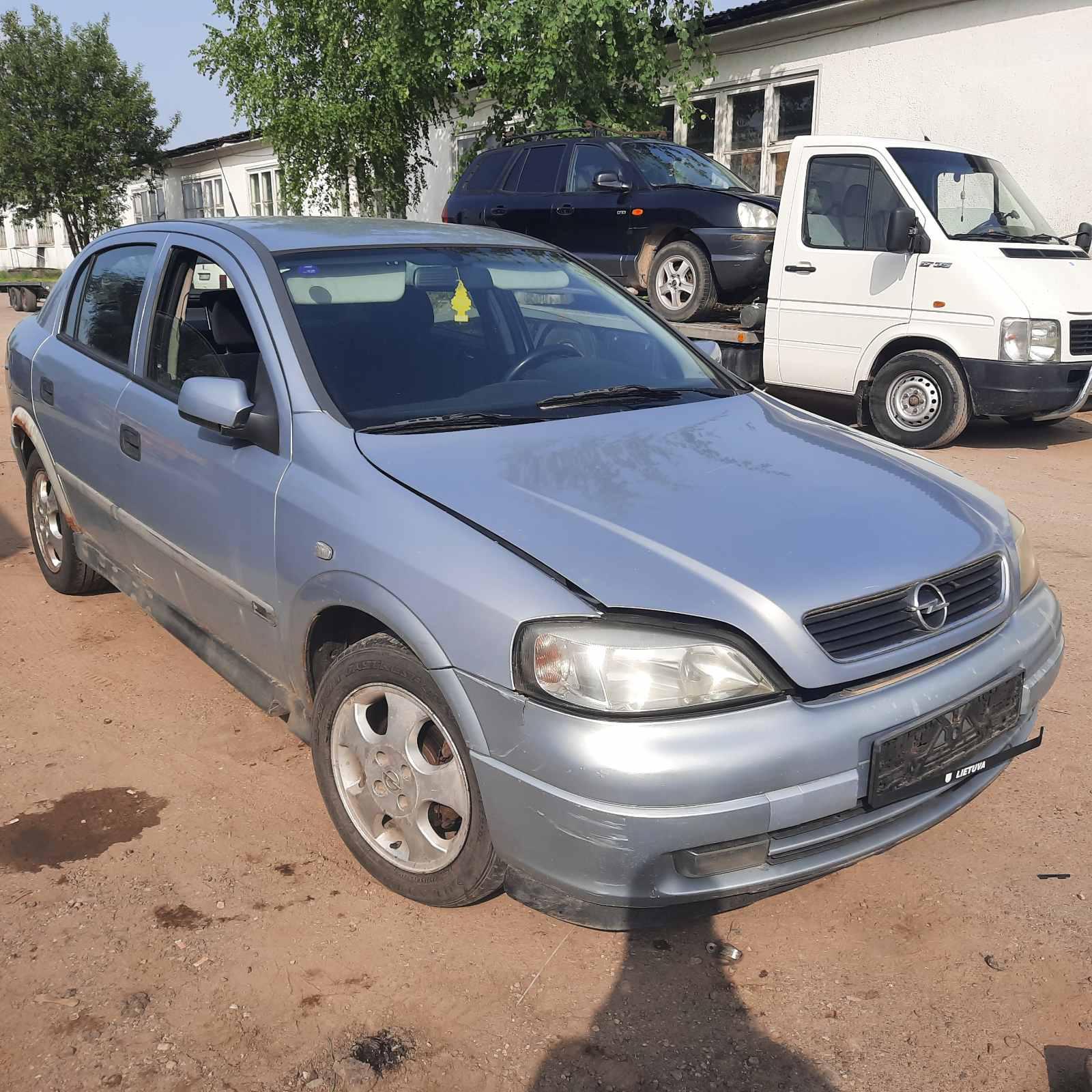 Naudotos automobilio dalys Opel ASTRA 2001 1.7 Mechaninė Hečbekas 4/5 d. Pilka 2021-7-12