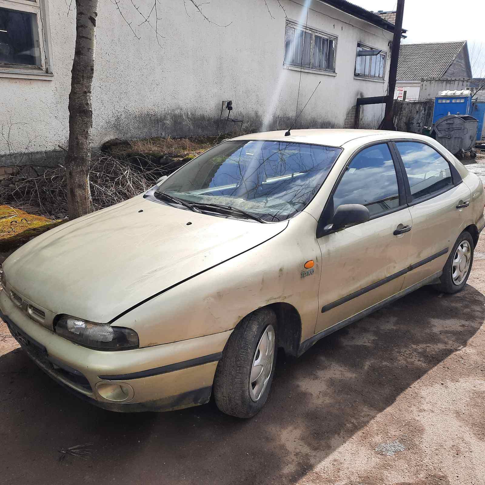 Подержанные Автозапчасти Foto 3 Fiat BRAVA 1996 1.9 машиностроение хэтчбэк 4/5 d. желтый 2021-4-07 A6134