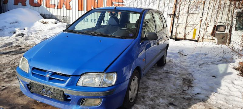 Naudotos automobiliu dallys Foto 3 Mitsubishi SPACE STAR 2000 1.3 Mechaninė Vienatūris 4/5 d. Melyna 2021-2-19 A6061