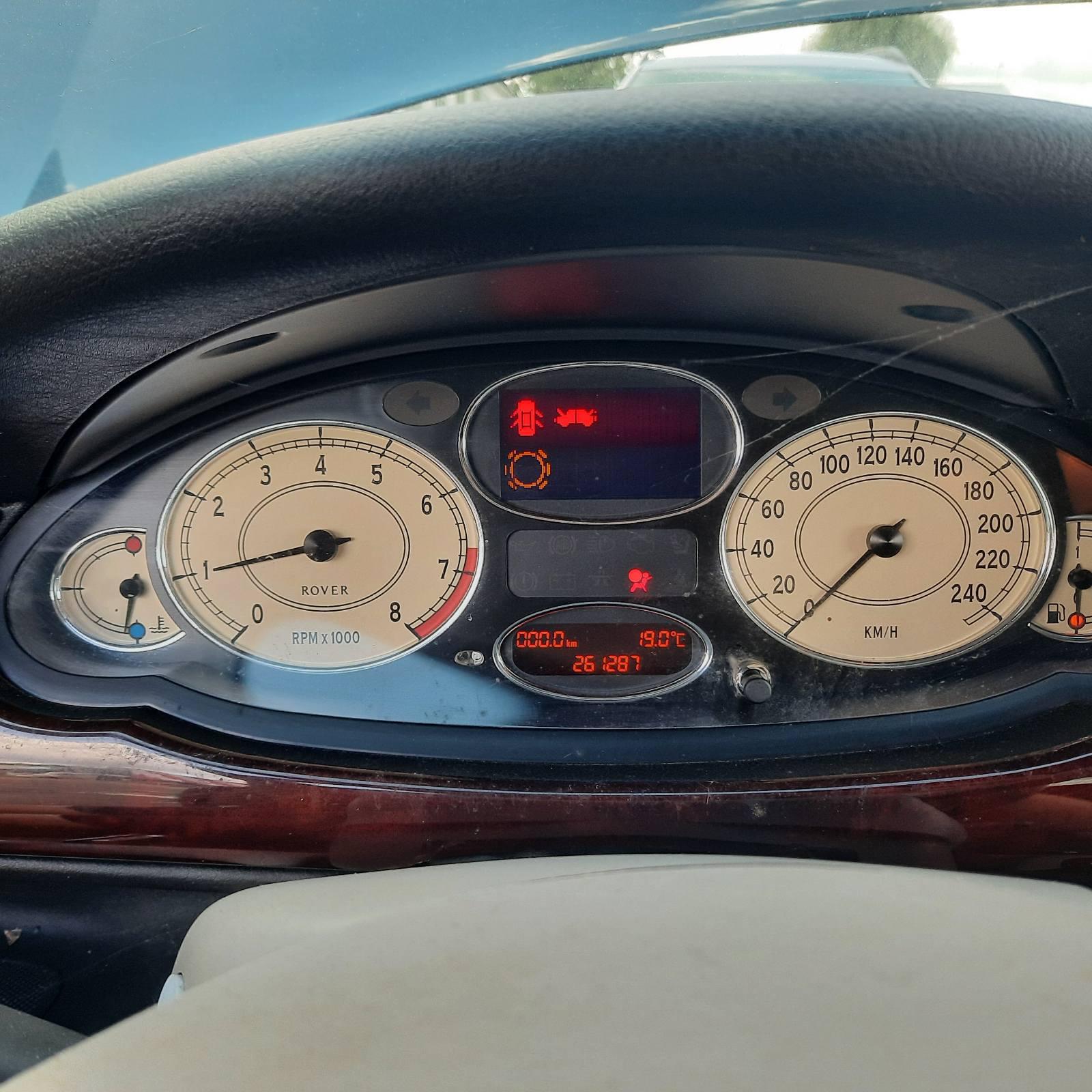 Naudotos automobilio dalys Rover 75 2000 2.0 Mechaninė Sedanas 4/5 d. Melyna 2021-8-13
