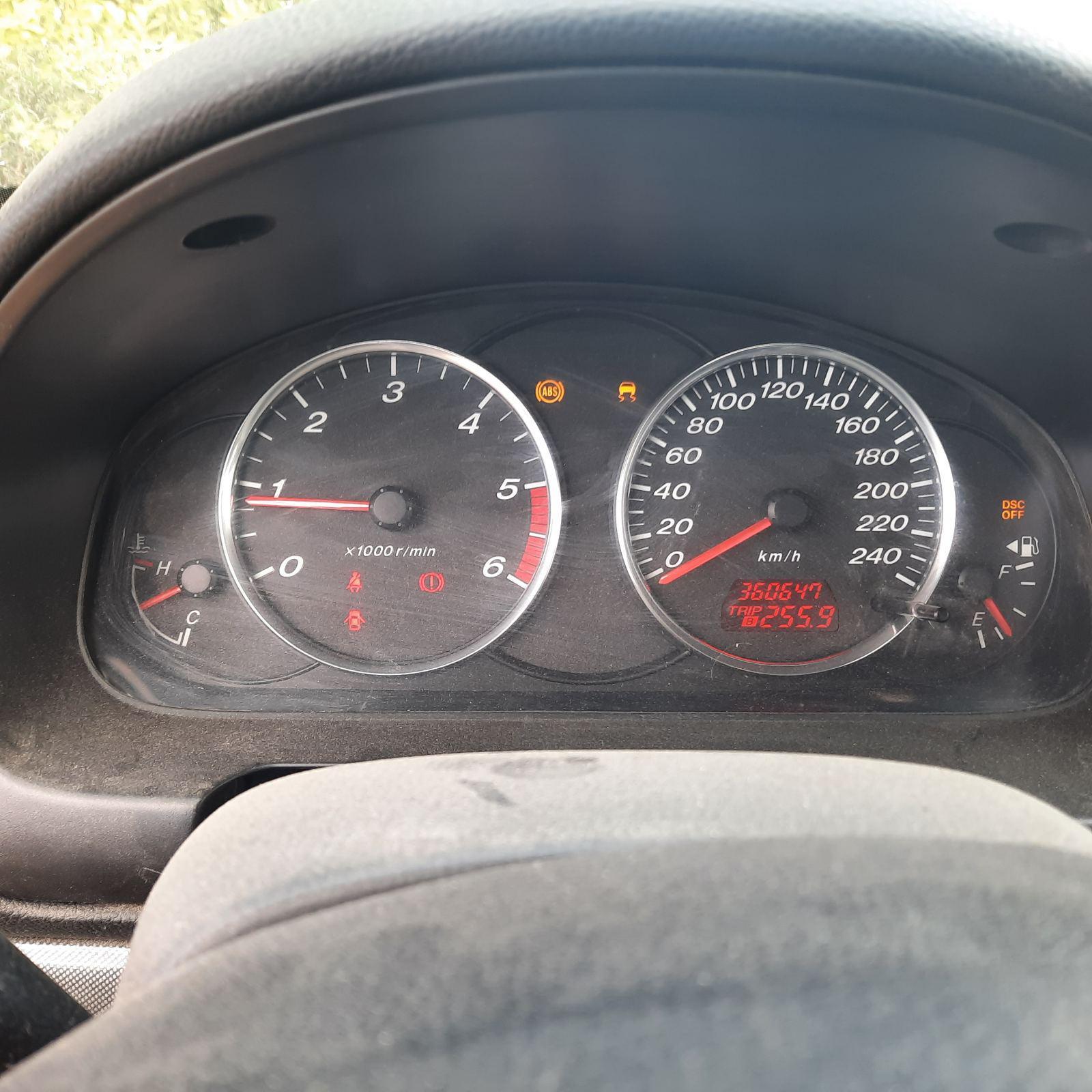 Naudotos automobilio dalys Mazda 6 2002 2.0 Mechaninė Sedanas 4/5 d. Pilka 2021-8-24