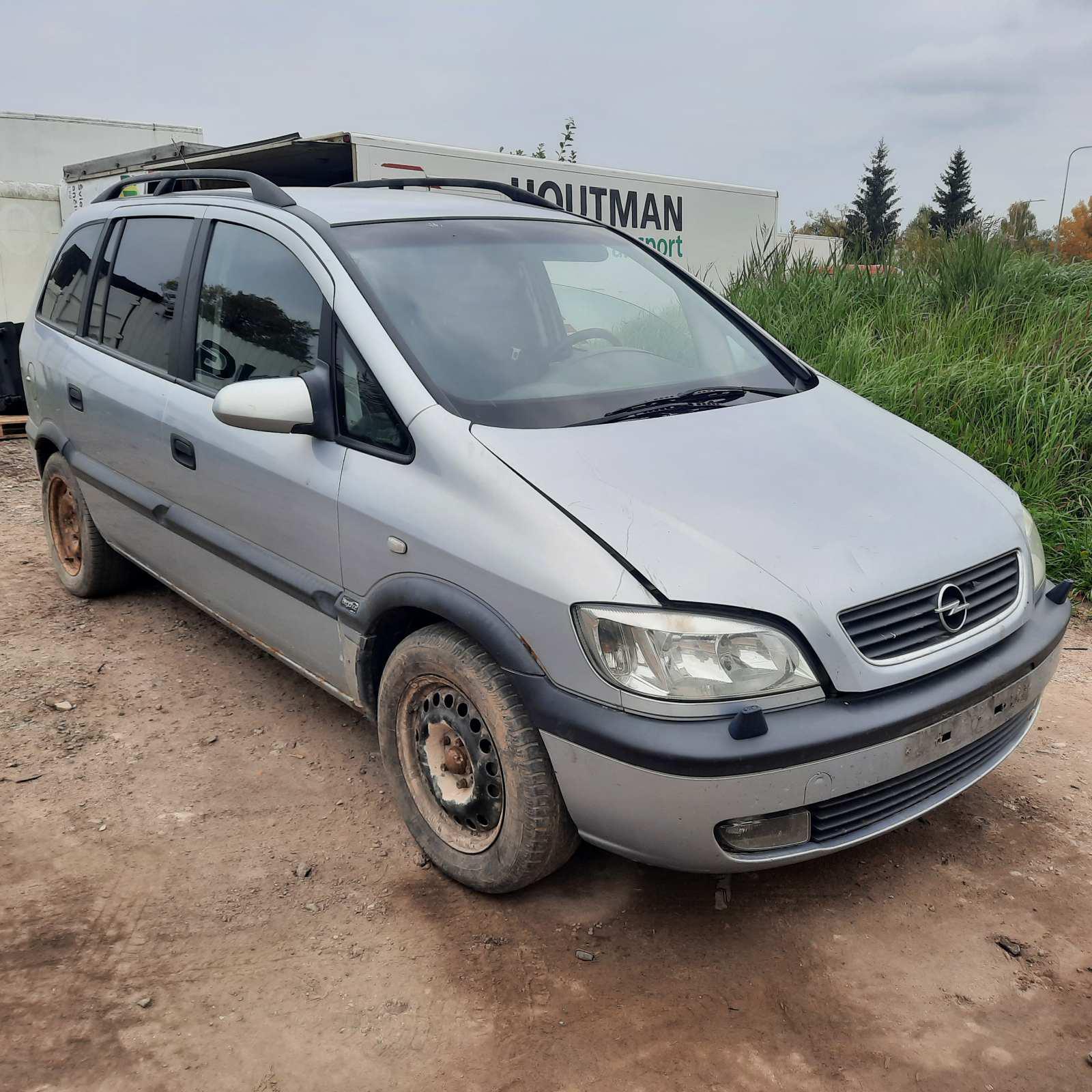 Naudotos automobilio dalys Opel ZAFIRA 2000 2.0 Mechaninė Vienatūris 4/5 d. Pilka 2021-10-01